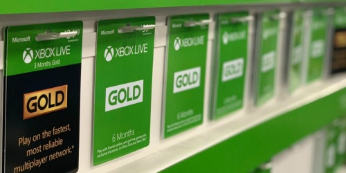 TWO Microsoft Xbox Live 3-Month Digital Gold Memberships Only $21 (Just $10.50 Each)