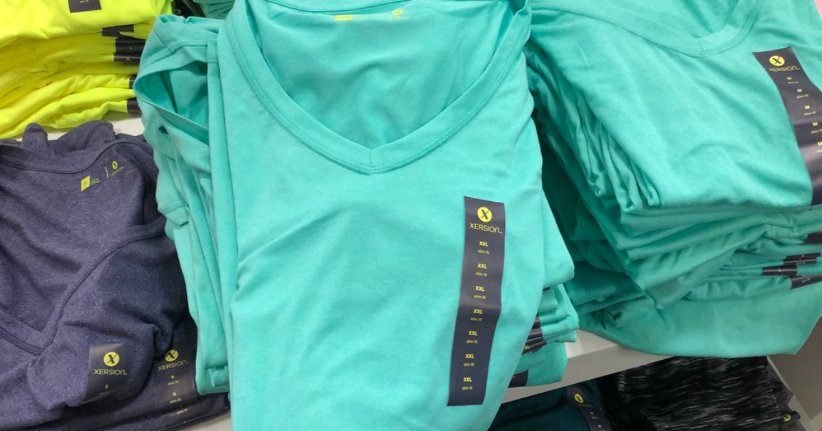 b0b56e8417a4a1 Xersion Women s Performance Tees Only  2.45 at JCPenney + More