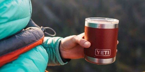 $10 Off Dick's Sporting Goods $50 Purchase = RARE Savings on YETI Tumblers