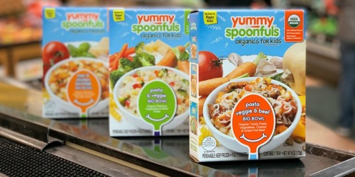 50% Off Yummy Spoonfuls Organic Frozen Kids Meals at Walmart