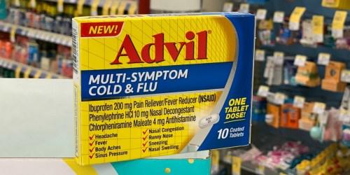 Better Than FREE Advil Cold & Flu After Walgreens Rewards & Cash Back