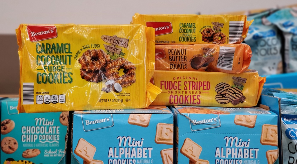 girl scout knockoff cookies at aldi