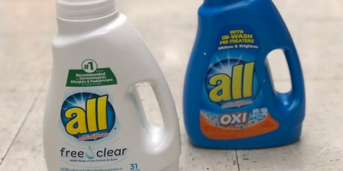 all Laundry Detergent Just 99¢ Each at Walgreens (Starting 4/28)