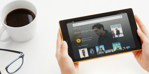 Amazon Fire 16GB HD 8 Tablet w/ Alexa Only $49.99 Shipped