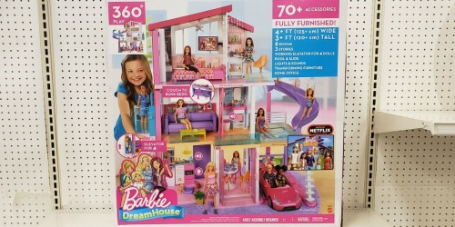 25% Off a Toy for Best Buy Rewards Members = Barbie DreamHouse Just $115.49 Shipped (Regularly $200)