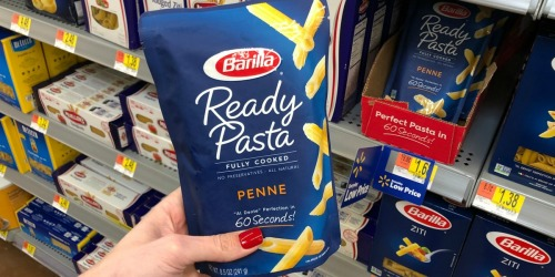 Barilla Ready Pasta Only 68¢ After Cash Back at Walmart