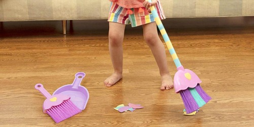 Amazon: Battat Kids Mighty Tidy 4-Piece Sweeping Set Only $7.60 Shipped (Regularly $16.25)