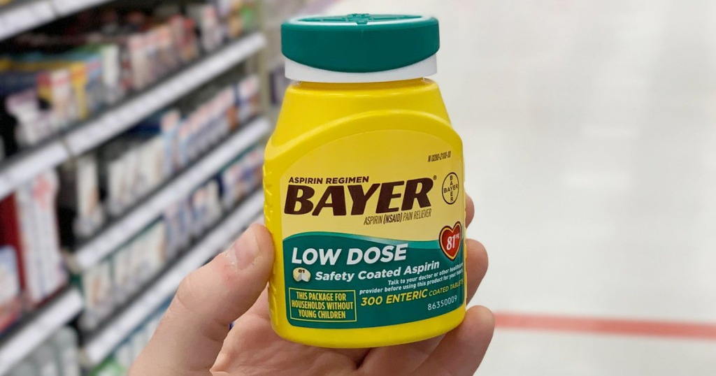 Amazon Bayer Aspirin 300 Count Tablets Only 6 54 Shipped
