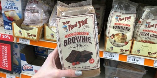 Bob's Red Mill Gluten Free Brownie Mix Only $3.75 at Big Lots & More