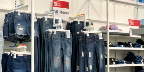 Buy One, Get One 50% Off Jeans for the Family at Target (In-Store & Online)