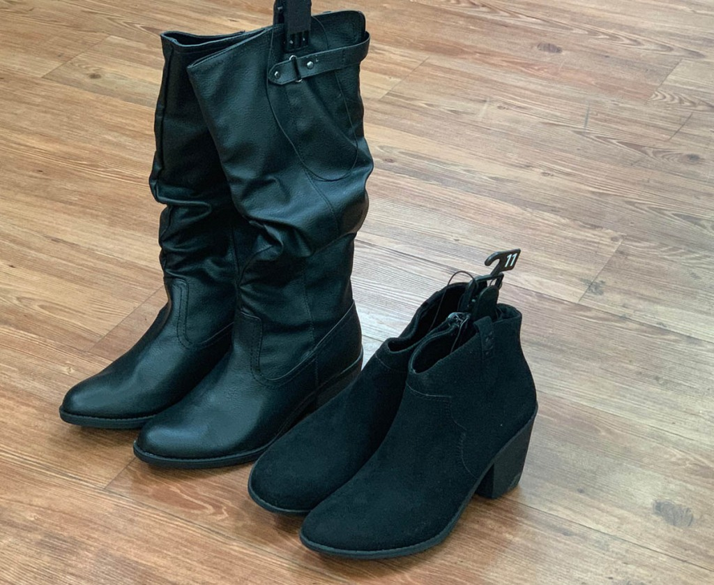 a1af3b92420 ... over to Walmart.com where you ll find select Women s Boots on clearance  for up to 70% off! This would be a great time to add a few pairs to your  winter ...