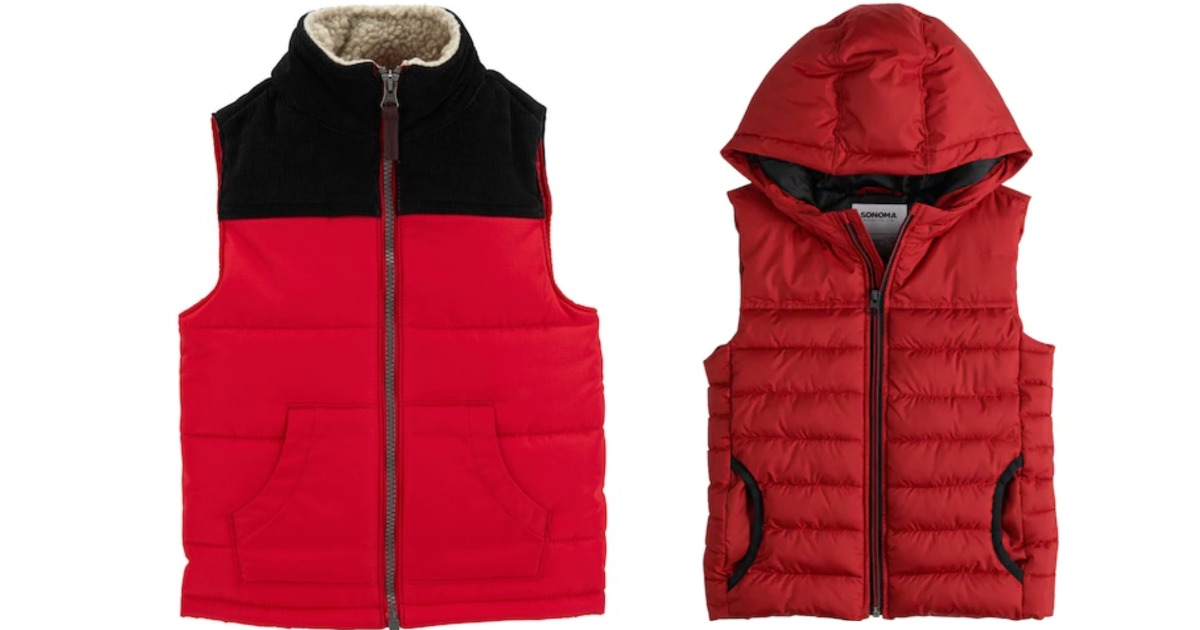 8969ea1c4ef4 Carter s Baby Boy Colorblocked Puffer Vest Only  12 (Regularly  30 ...