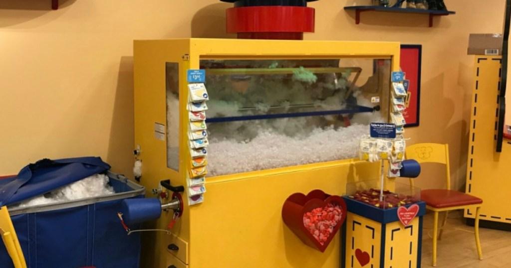 Build-A-Bear Workshop stuffing station