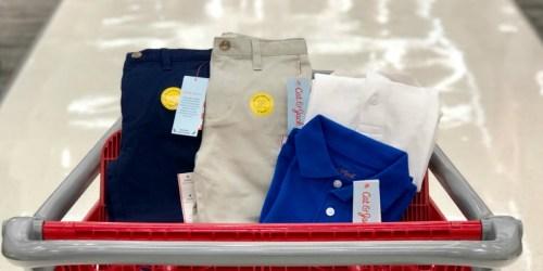 Target: Cat & Jack School Uniforms Starting at $4.80 (In-Store & Online)