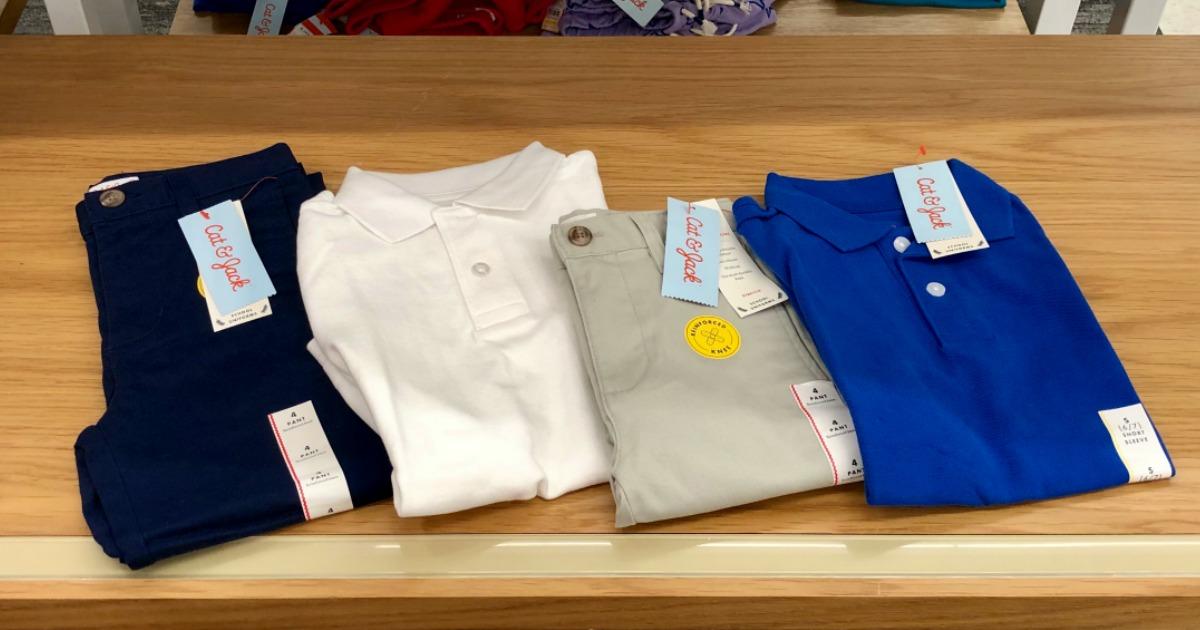 cat & jack uniforms target
