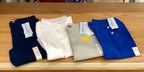 Cat & Jack Uniform Separates from $2.80 at Target | Guaranteed to Last a Full Year