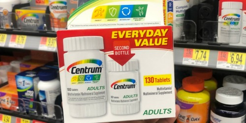 High Value $3/1 Centrum Vitamins Coupon