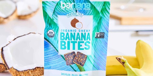 Amazon: Barnana Organic Banana Bites 3-Bag Pack Only $7.88 Shipped (Just $2.63 Each)