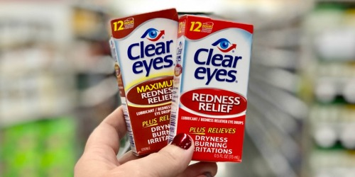 30% Off Clear Eyes Drops at Target (In-Store & Online)