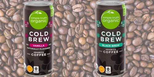 Free Simple Truth Organic Ready to Drink Coffee for Kroger & Affiliate Shoppers