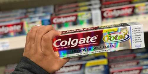 THREE Colgate Total Advanced Deep Clean Toothpaste Only $1.97 at CVS – Starting 1/27