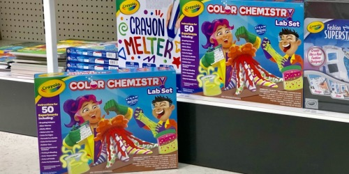 Crayola Color Chemistry Lab Set Only $17.49 (Regularly $25) at Target