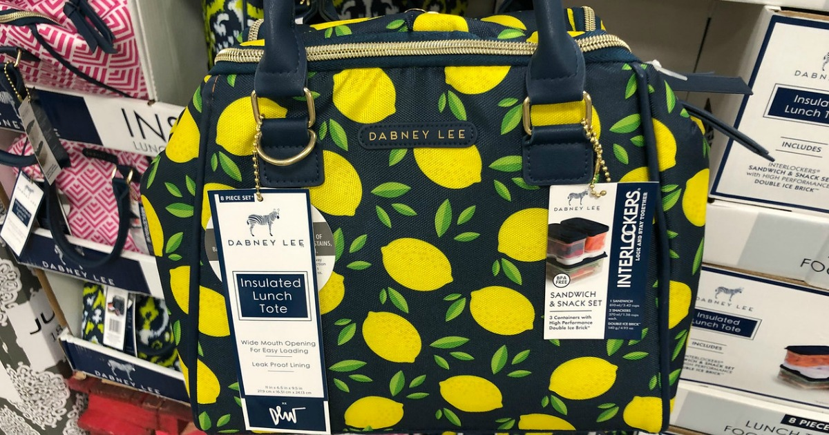 Sam S Club Dabney Lee Insulated Lunch Tote Only 19 98