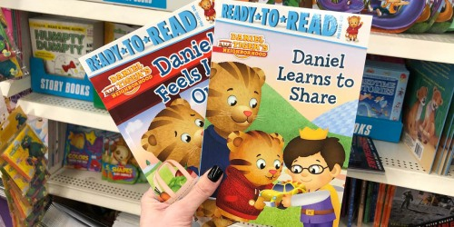 Children's Books Only $1 at Dollar Tree (Daniel Tiger, Olivia & More)