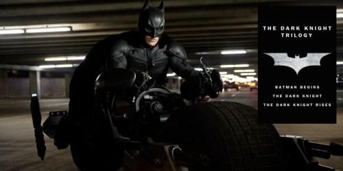 Own The Dark Knight Trilogy 4K UHD Digital Download Just $24.99 (Regularly $70)