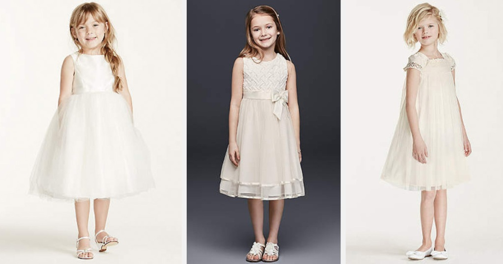 e17f488aae5a David's Bridal Flower Girl Dresses Only $29.99 Shipped - Hip2Save