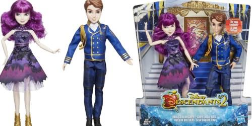 Up to 80% Off Disney Descendants Dolls on Amazon