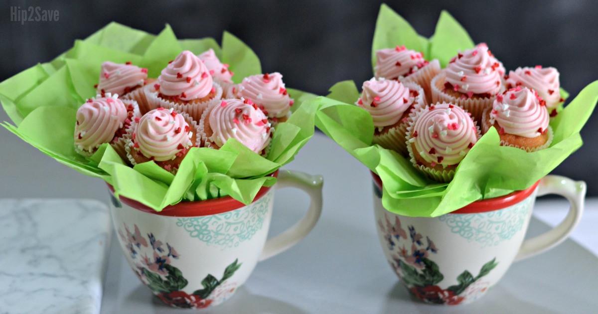 diy mini cupcake bouquet tutorial