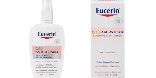 Amazon: Eucerin Q10 Anti-Wrinkle Sensitive Skin Lotion Only $5.81 Shipped