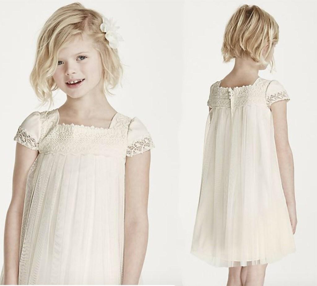 75af6c4a7b63 David's Bridal Flower Girl Dresses Only $29.99 Shipped - Hip2Save