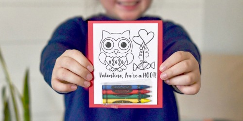 DIY Crayon Valentines (Free Printable Included)