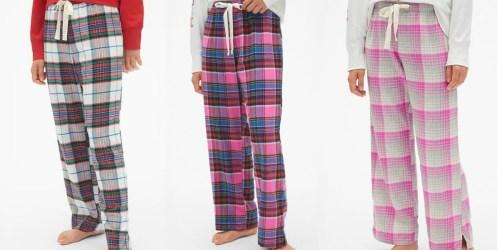 Gap Women's Pajama Pants Only $5.49 (Regularly $35) + More