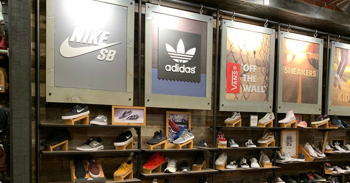 f47d72b346d5 Hop on over to Academy Sports + Outdoors where they are offering up an  extra 25% off name brand clearance shoes including adidas