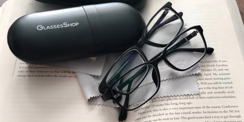 TWO Pairs of Prescription Glasses as Low as $18.90 Shipped from GlassesShop.com