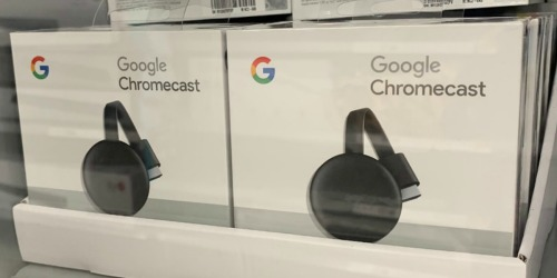 Google Chromecast 3rd Generation Only $28 Shipped (Regularly $35)
