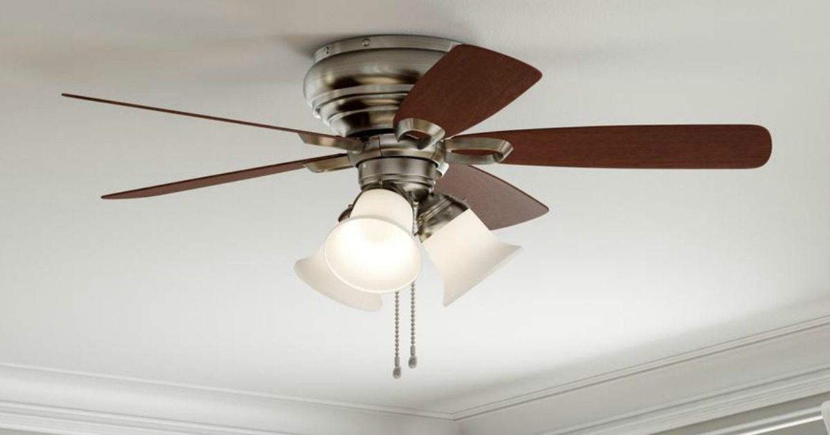 Up To 40 Off Ceiling Fan Light Kits At Home Depot