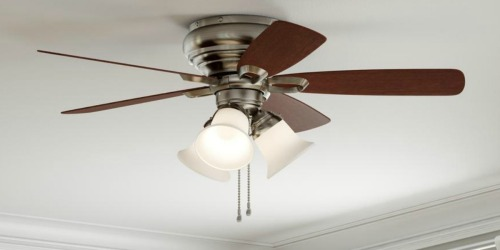 Up to 40% Off Ceiling Fan Light Kits at Home Depot