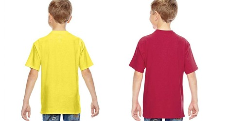 Hanes Kids T-Shirts Only $2.51 Shipped (Regularly $8)