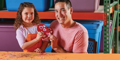 Register Now for Free Home Depot Candy Heart Box Kids Workshop on February 2nd
