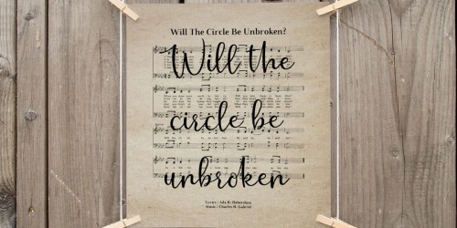Farmhouse Hymn Prints Only $9 Shipped (Regularly $20+)