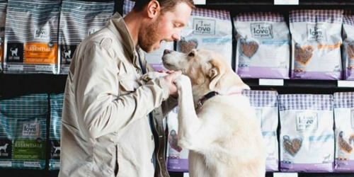 "FREE ""I and love and you"" Naked Essentials Dog Food Sample"