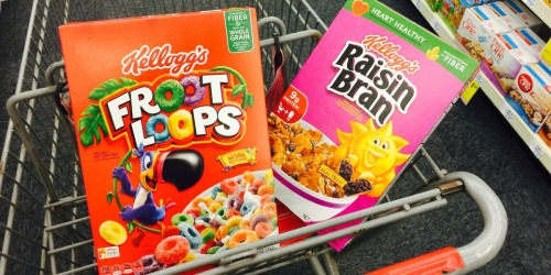 Kellogg's Cereal Only $1.39 at CVS (Starting January 20th)