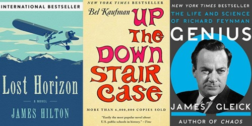 Kindle eBook Bestsellers Just $1.20 (Up The Down Staircase, Lost Horizon & More)