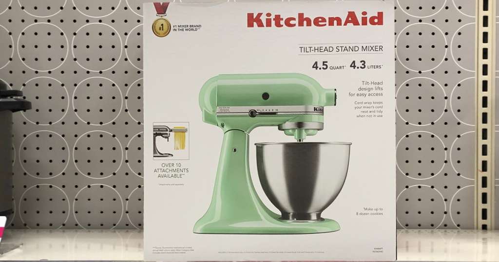 Kitchenaid 4 5 Quart Stand Mixer Possibly Only 99 At Walmart