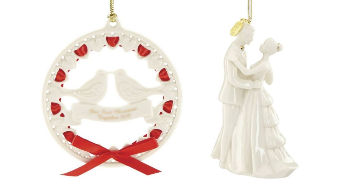 90 Off Select Lenox Christmas Ornaments At Bed Bath