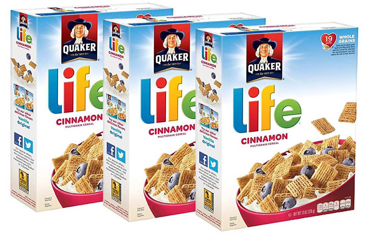 life cereal boxes